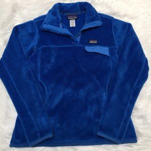 Patagonia Re Tool Snap T Fleece Pullover Blue